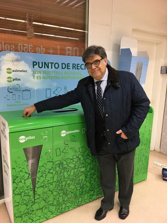 Multicontenedores de reciclaje